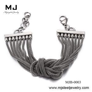 Customized Stainless Steel Mesh Cuff Bracelet Mjb-0003