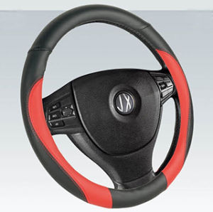 PVC PU Car Steering Wheel Cover (BT7293D) pictures & photos