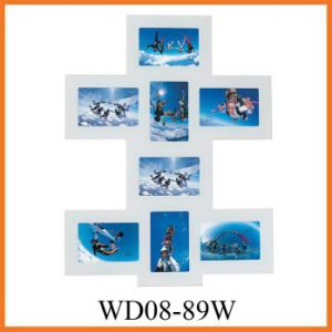 2013 Fashion Wooden Collage Picture Frame with High Quality (WD08-89W) pictures & photos