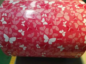 Various Flowers PPGI Print Coating Sheet for Buiding Material pictures & photos