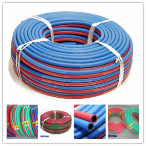 Flexible Acetylene / Oxygen / Propane Rubber Twin Welding Hose pictures & photos
