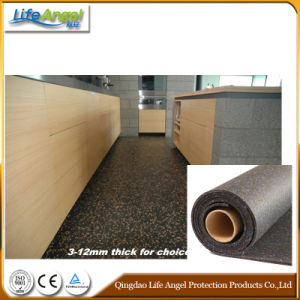 6mm, 8mm, 10mm Thick EPDM Freckled Rubber Flooring in Roll pictures & photos