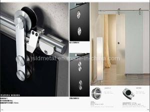 """78"""" or 98"""" Rail Sliding Glass Barn Door Hardware (SLG01)"""