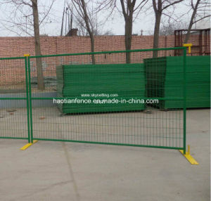 Powder Coating Temporary Fence for Canada pictures & photos