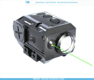 New Compact Square Green Laser Sight and Strobe 200 Lumen CREE Q5 LED Light Combo (FDA certified) pictures & photos