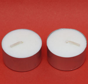 Unique Decorative Tealight Candles in Clear Cup pictures & photos