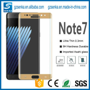 New Premium 3D Full Cover Gold Screen Protector for Samsung Galaxy Note 7 pictures & photos