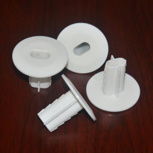 Plastic Double Coaxial Cable Wall Bushing White pictures & photos