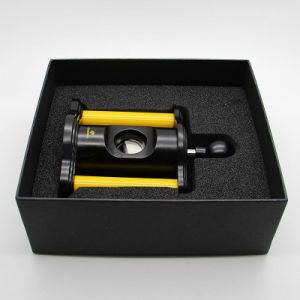 Cohiba Luxurious Yellow & Black Guillotine Spring Style Cigar Cutter or Scissors Gift Box (ES-EB-019) pictures & photos