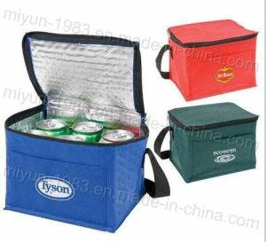 Advertising Customize Logo Printed Non Woven Cooler Bag (M. Y. C. -012) pictures & photos