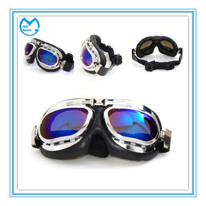 Customized No Myopia Dirt Bike Harley Eyewear Sporting Goggles pictures & photos