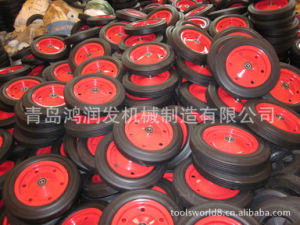Colourful Foam PU Wheel 4.00-8/6 pictures & photos