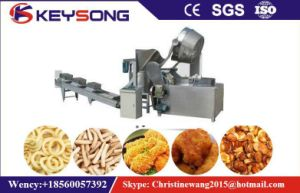Automatic Snacks Donut Peanut Batch Fryer pictures & photos
