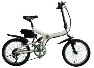 Most Popular 20′ Hot Sale Folding Electric Bicycle pictures & photos