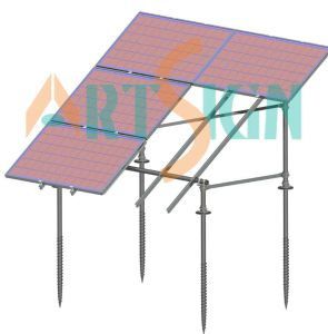 Solar Ground Mounting Racks Ground Screw pictures & photos