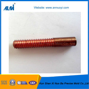 China OEM Precision Red Copper Threaded Electrod pictures & photos