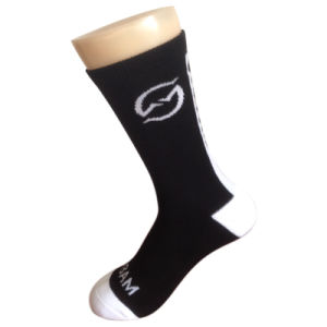 Men Women Cotton Terry Sports Socks for Team (CB-1) pictures & photos