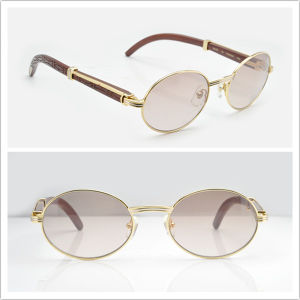 Wooden Sunglasses for Mens (55-22) pictures & photos