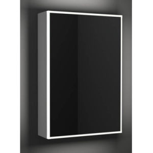 Aluminium Alloy Lighted Bathroom Mirror Cabinet pictures & photos
