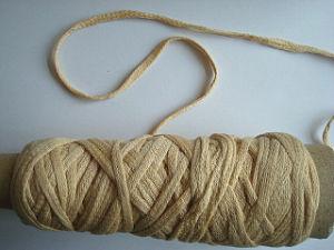 Soybean Protein Fiber Crochet Yarn -Tape Fancy Yarn Nm0.6/1 pictures & photos