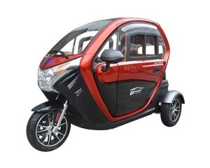 Electric Tricycle for Taxi Usage, Family Usage, Tourist Usage