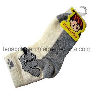 High Quality Baby Cottton Ankle Socks (DL-CS-34) pictures & photos