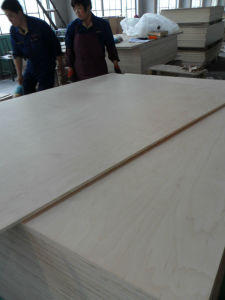 White Oak Melamine MDF for Furniture Board pictures & photos
