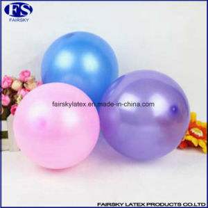 Cheap 10 Inch Pearly Color Latex Balloons for Advertisement pictures & photos