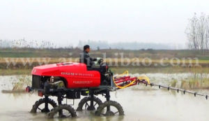 Aidi Brand 4WD Hst Self Propelled Diesel Engine Boom Sprayer with Pesticide pictures & photos