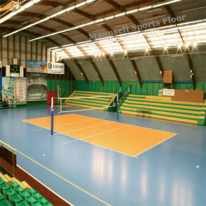 Indoor PVC Volleyball Sports Roll Flooring Mats pictures & photos