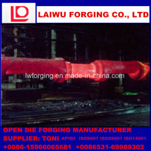 Forged Crankshaft Made by Free Forging Process with ISO9001 pictures & photos