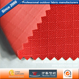 Polyester 0.5 Lattice 600d Oxford PVC Fabric for Bag pictures & photos