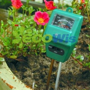 3 in 1 Moisture Meter with Light & pH Test Function (HT5204) pictures & photos