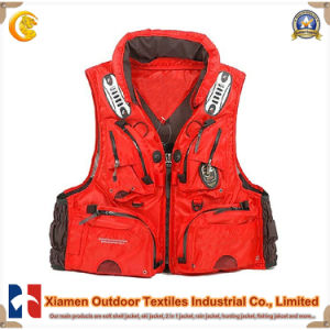 Fashion Highlight Functional Cargo Fishing Vest (JKF18)