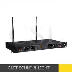 Full Frequency Range Karaoke UHF Wireless Microphone for PRO Stage pictures & photos