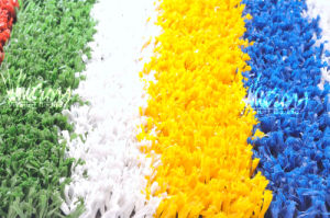 Colored Artificial Grass for Tennis Court (T16253)