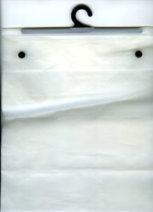 CPE Unprinted Hanger Bags Wtih Button (FLH-8711) pictures & photos