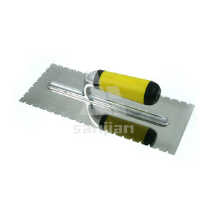 Notched Type Stainless Steel Trowel pictures & photos