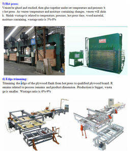 Short Cycle Plywood Hot Press Machine for Wood Panel Plywood Laminating pictures & photos