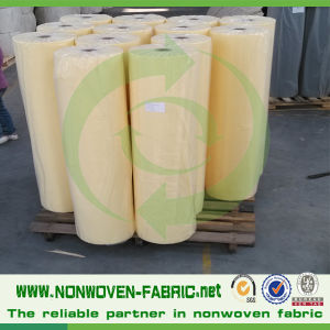 Non Woven Polypropylene Fabric in Roll pictures & photos