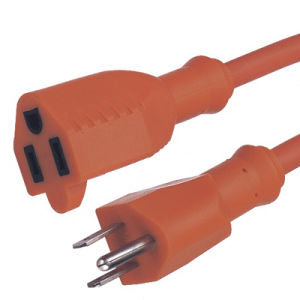 Us Waterproof Outdoor Extension Cord pictures & photos