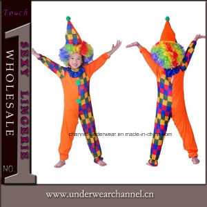 Children Party Favor Costumes Baby Circus Clown Kid Costume (0056) pictures & photos