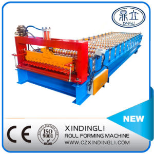 Automatic Color Steel Corrugated Roofing Sheet Roll Forming Machine pictures & photos
