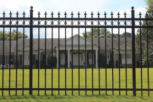 Powder Coated Decorative Wrought Iron Pool Fence pictures & photos
