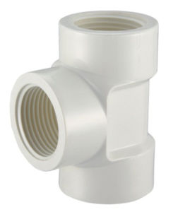 PVC-U Theraded Fittings Female Tee pictures & photos