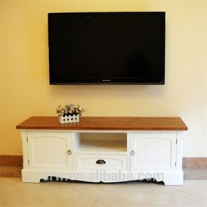 Wh-4109 Wholesale European Style Free Standing TV Stand pictures & photos