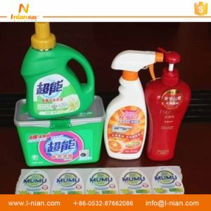 China Manufacturer Custom Waterproof Adhesive Printed Laundry Detergent Labels