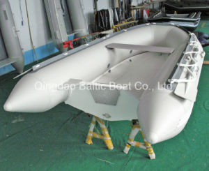 Fiberglass Open Paddle Boat Rib 270 Ce pictures & photos