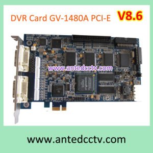 Geovision Software PC Based 16CH Gv-1480A PCI-Express DVR Card V8.6 pictures & photos