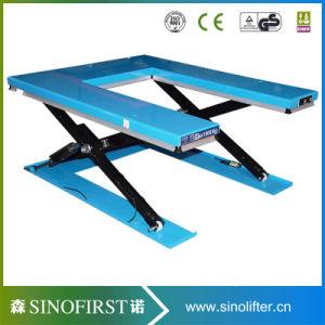 1ton to 3ton Ground Scissor Goods Lift Table pictures & photos